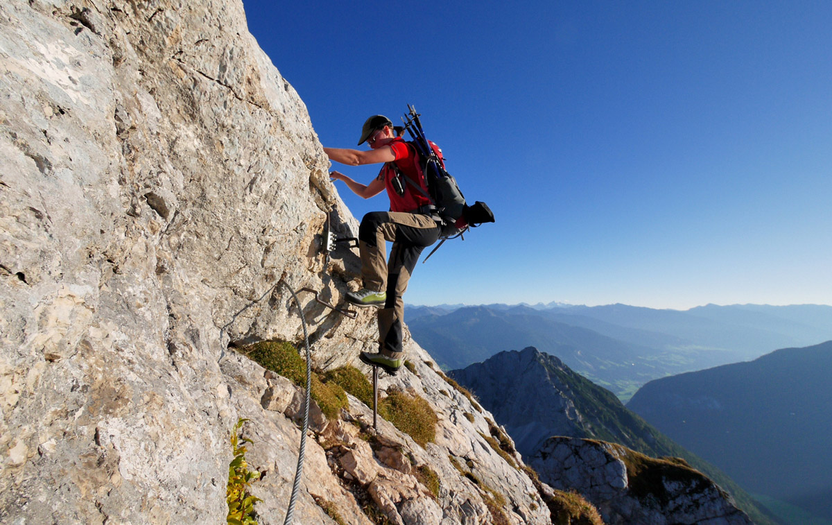 Klettersteigcamp am Achensee