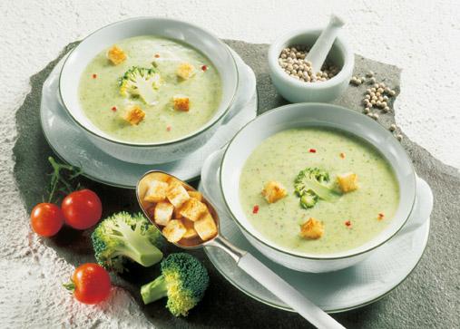 Brokkoli-Käsecreme-Suppe