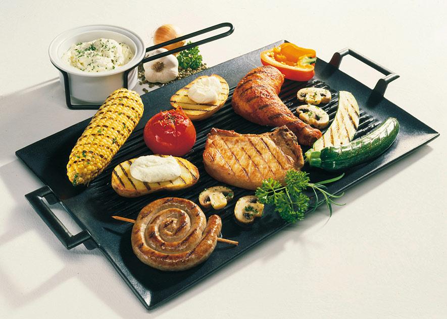 Grillplatte mit dips rezept for Grill mit platte